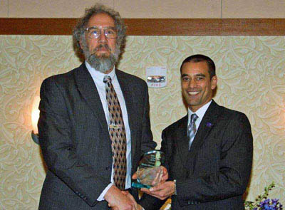 Ed Tuchler receiving NRV Green Company Award image