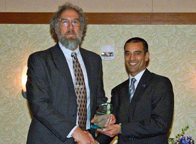 Ed Tuchler receiving NRV Green Company Award image